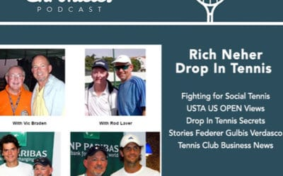 """Rich Neher shares """"Drop In Tennis Secrets"""" and USTA US OPEN views in Tennis Club Business News"""