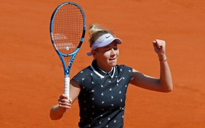 Amanda Anisimova Takes the French by Storm