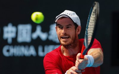 Andy Murray is showing signs of life as a singles player