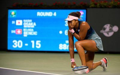 Williams and Osaka Falter at Indian Wells