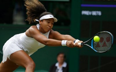 Osaka goes down in the first round at Wimbledon