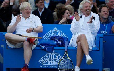 Eugenie Bouchard and Caroline Wozniacki in Pros vs. Amateurs Tournament
