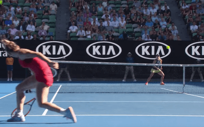 Kerber and Halep turn it up at the Australian