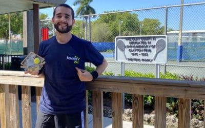 Soccer. Tennis. Music. Meet Carlos, a Tennis Pal From Miami.