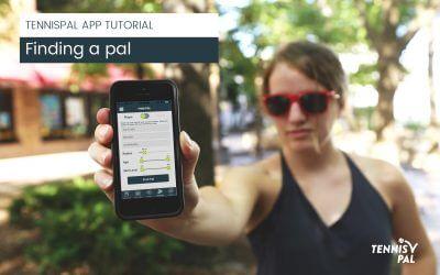 Find Pal in the TennisPal App
