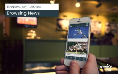 News in the TennisPAL App