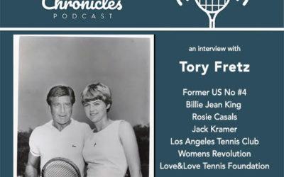 Former US No.4 Tory Fretz Interview Recalls Billie Jean King, Rosie Casals, LA Tennis Club, Jack Kramer, and the Women's Revolution in Tennis
